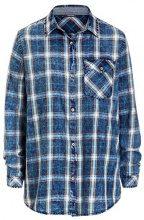 Timezone Long Shirt, Camicia Donna, Blau (True Indigo Check 3910), XL