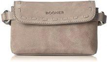 Bogner 2402608-, Borsa a mano Donna, Grigio (Grau (Dusk)), 5.5x9x16 cm (B x H x T)