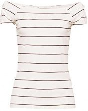 edc by Esprit 078cc1k015, T-Shirt Donna, Bianco (off White 110), Large