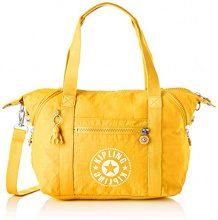 Kipling Art Nc - Borse a secchiello Donna, Giallo (Lively Yellow), 20x44x27 cm (B x H T)
