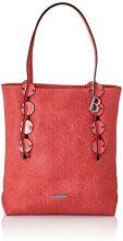 Bulaggi Lenny Shopper - Borse Tote Donna, Rot, 15x28x30 cm (B x H T)