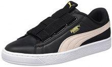 Puma Basket Maze Lea Wn's, Scarpe da Ginnastica Basse Donna, Nero Black-Pearl, 40.5 EU
