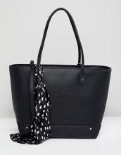 Maxi borsa con foulard