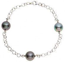 Pearls & Colors Bracciale Sterling-argento 925 Tahiti-acqua dolce 19 cm PC-BRMT01