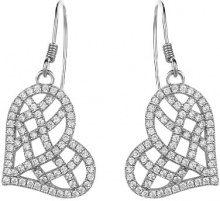 Orphelia Parure da donna: collana + Orecchini in argento Sterling 925con zirconi Wei 5221Set