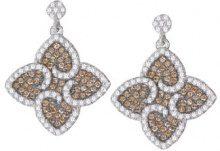 Orphelia Parure da donna: collana + Orecchini in argento Sterling 925con zirconi multicolore 5225Set