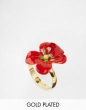 Les Nereides - Anello con fiore