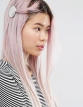 Monki - Fermaglio per capelli con disco