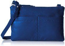 Liebeskind Berlin Greensboro Heasti - Borse a tracolla Donna, Blau (Electric Blue), 4x15x23 cm (L x H D)