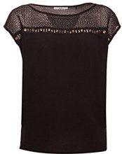 edc by Esprit 078cc1f011, Camicia Donna, Nero (Black 001), Small