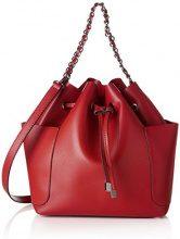 PIECES Pcfreja Bag - Borse a spalla Donna, Rosso (Scooter), 13x32x30 cm (B x H x T)