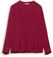 edc by Esprit 107cc1f016, Camicia Donna, Viola (Berry Purple 520), X-Small