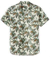 Celio GANA1, Camicia Uomo, Verde (Vert Vert), 42