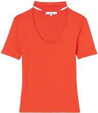 FIND 16 12 357 magliette donna, Rosso (Red Tomato), 46 (Taglia Produttore: Large)