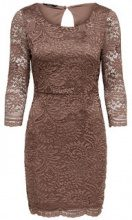 ONLY Lace Detailed Dress Women Brown
