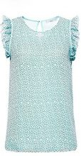 edc by Esprit 078cc1f001, Camicia Donna, Verde (Light Aqua Green 390), Medium
