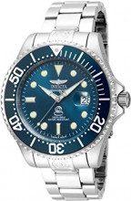 Invicta 18160 Pro Diver Orologio da Uomo acciaio inossidabile Automatico quadrante blu