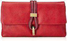 Bulaggi Bibis Clutch - Pochette da giorno Donna, Rosso (Rot), 14x3x28 cm (B x H T)