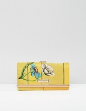 River Island Floral Embroidered Purse