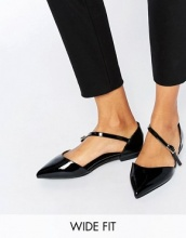 ASOS - LEAD THE WAY - Ballerine a punta a pianta larga