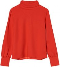 find AN5478, Camicia Donna, Rosso (Scarlet Red), X-Small