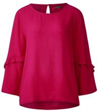 Street One 340839, Blusa Donna, Rosa (Carribean Pink 11293), 46