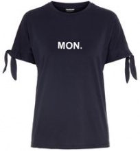 NOISY MAY Statement T-shirt Women Blue