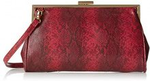 Bulaggi Jailey Framebag - Pochette da giorno Donna, Rosso (Rot), 16x5x28 cm (B x H T)