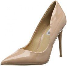 Steve Madden Daisie Heel, Scarpe col Tacco Punta Chiusa Donna, Rosa (Blush Patent 09008), 40 EU