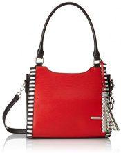 Bulaggi Jaylee Shopper - Borse a spalla Donna, Rosso (Rot), 21x10x28 cm (B x H T)