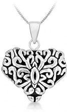 Tuscany Silver Collana con ciondolo Donna argento_ossidato Argento sterling 925-8.46.3534