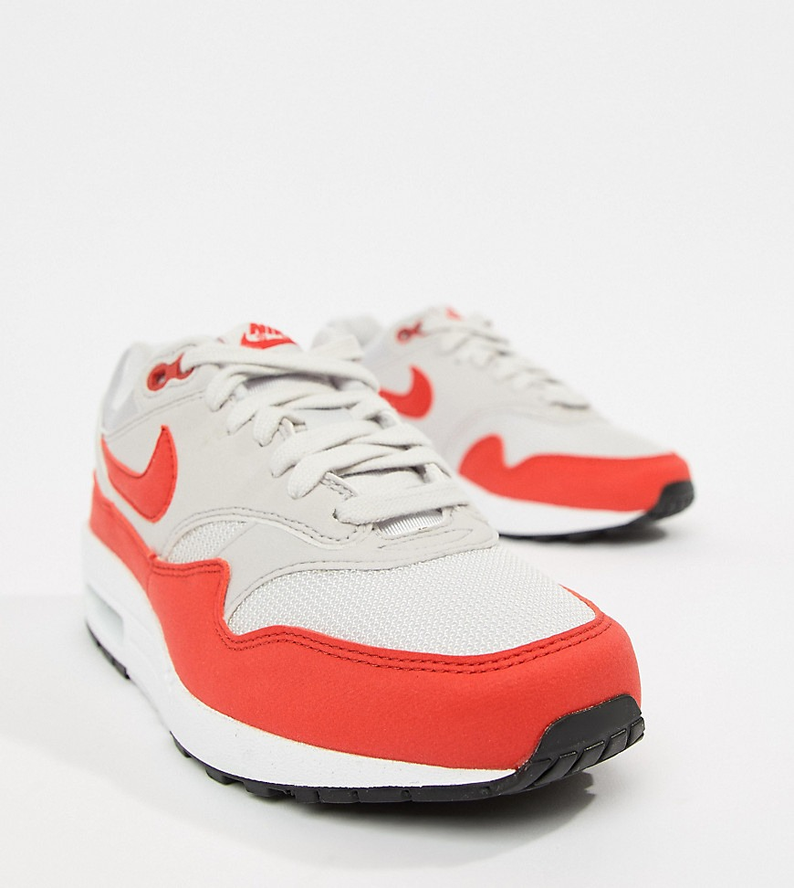 air max 1 rosse e bianche