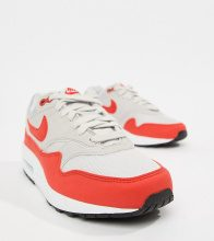 Air Max 1 - Sneakers rosse e grigie
