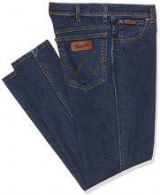 Wrangler Texas Stretch, Jeans Uomo, Blu (Stonewash), W40/L36