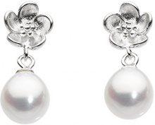 Dew Donna 925 argento Ovale Ovale perla cinesa da coltivazione bianco sporco Perla