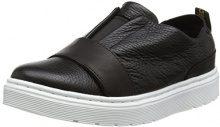 Dr. Martens Lylah, Sneaker Infilare Donna, Nero (Black 001), 41 EU
