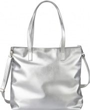 Borsa shopper metallizzata Maite Kelly
