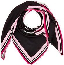 Guess Flamingo Kiss, Scialle Donna, Nero (Jet Black), Taglia Unica