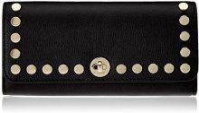 Michael Kors Rivington Stud - Borse a secchiello Donna, Black, 3.8x9.5x19.3 cm (W x H L)