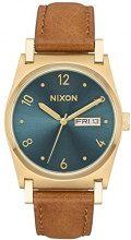 Nixon Orologio Analogico Quarzo Unisex con Cinturino in Pelle A955-2626-00