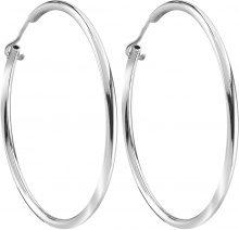 Orecchini cerchio 33 mm in argento 925 rodiato