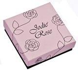 Jodie Rose-Bracciale placcato in oro rosso, lunghezza 8,5 cm
