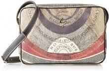 Gattinoni Gpcb008, Borsa a Tracolla Donna, Multicolore (Classico), 5x19x28 cm (W x H x L)