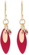 Sabrina Dehoff CHERRY MOON LEAF EXCLUSIVE Orecchini goldcoloured