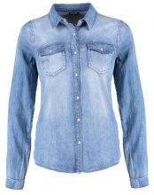 Vila VIBISTA  Camicia medium blue denim