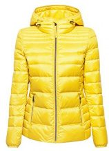 ESPRIT 078ee1g001, Giacca Donna, Giallo (Yellow 750), Large