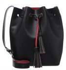 Borsa a tracolla - black/red