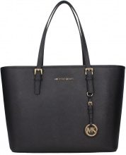 Borse a Spalla Michael Kors jet set travel Donna Nero