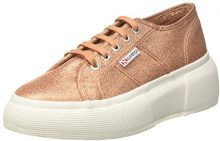 Superga 2287-LAMEW, Sneaker Donna, Rose Gold, 36 EU