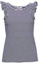 edc by Esprit 068cc1k014, T-Shirt Donna, Blu (Navy 400), X-Large